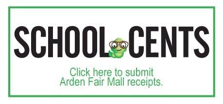 Submit Receipts for Arden Fair Mall