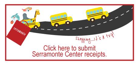 Submit Receipts for Serramonte Center